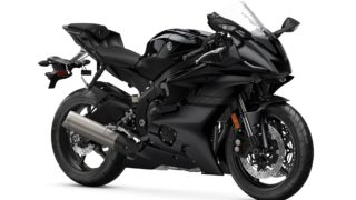 2020 Yamaha YZF-R6 colour option Raven Black