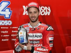 Andrea Dovizioso Shell Ducati Riders' Day India