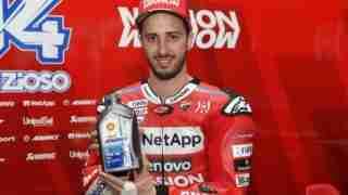 Andrea Dovizioso Shell Ducati Riders' Day India