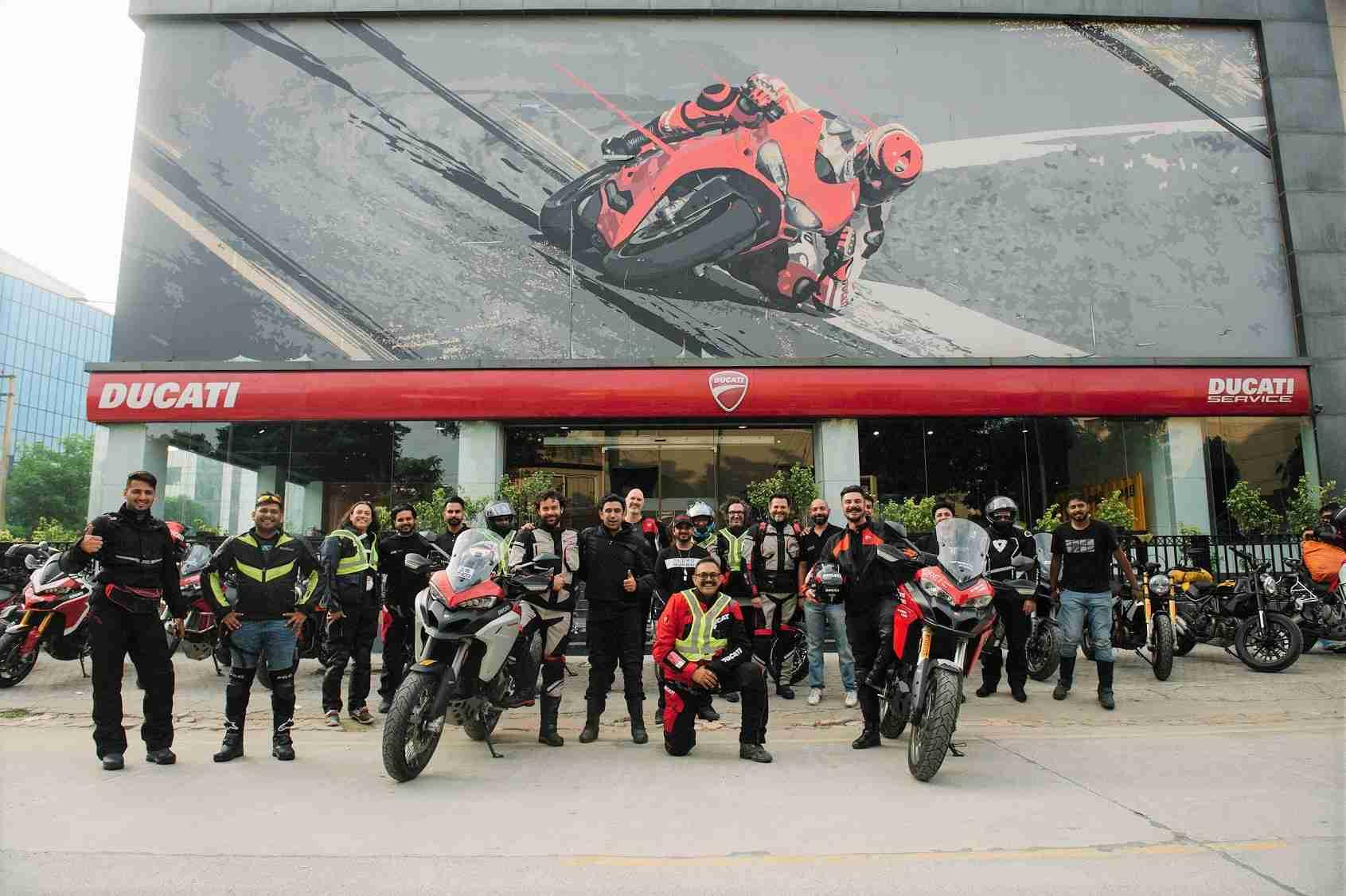 Ducati Dream Tour to Spiti Valley a success