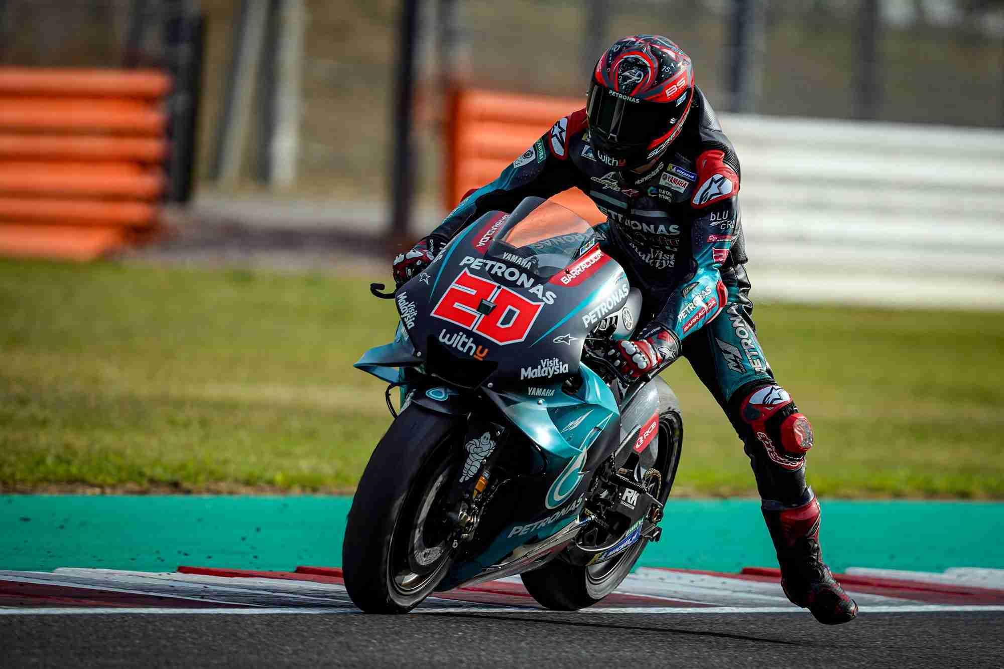 Fabio Quartararo Aragon 2019 Hd Motogp Wallpaper Iamabiker Everything Motorcycle