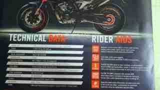 KTM Duke 790 brochure