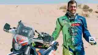 Lorenzo Santolino Sherco TVS rider