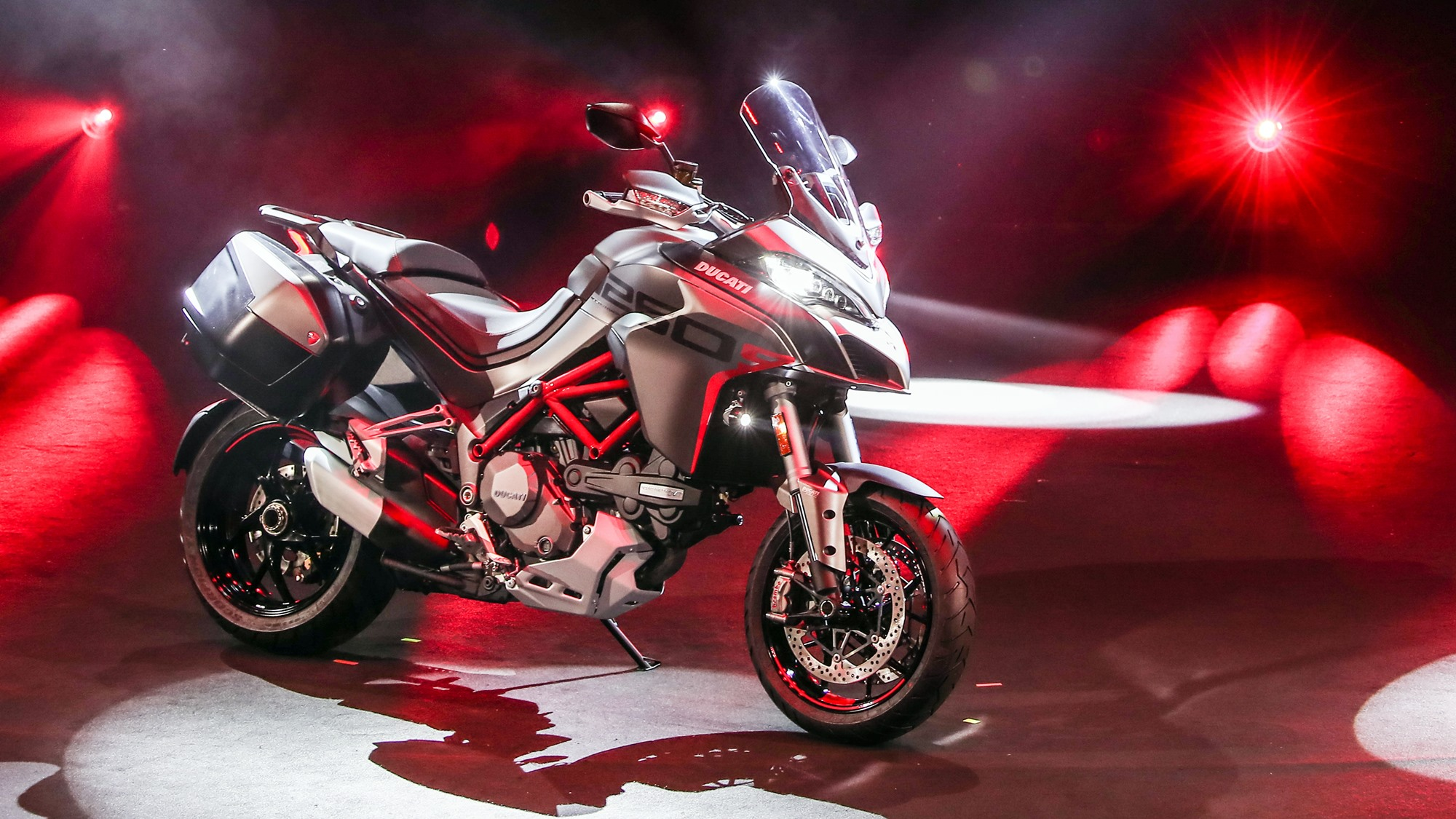 2020 Ducati Multistrada 1260 S Grand Tour HD wallpaper
