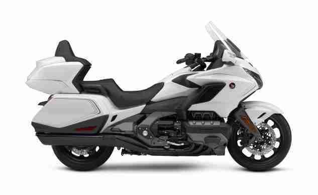 2020 Honda Gold Wing in Pearl Glare White