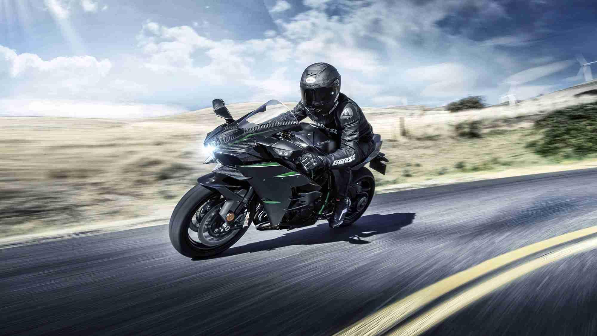 2020 Kawasaki Ninja H2 Carbon HD wallpaper