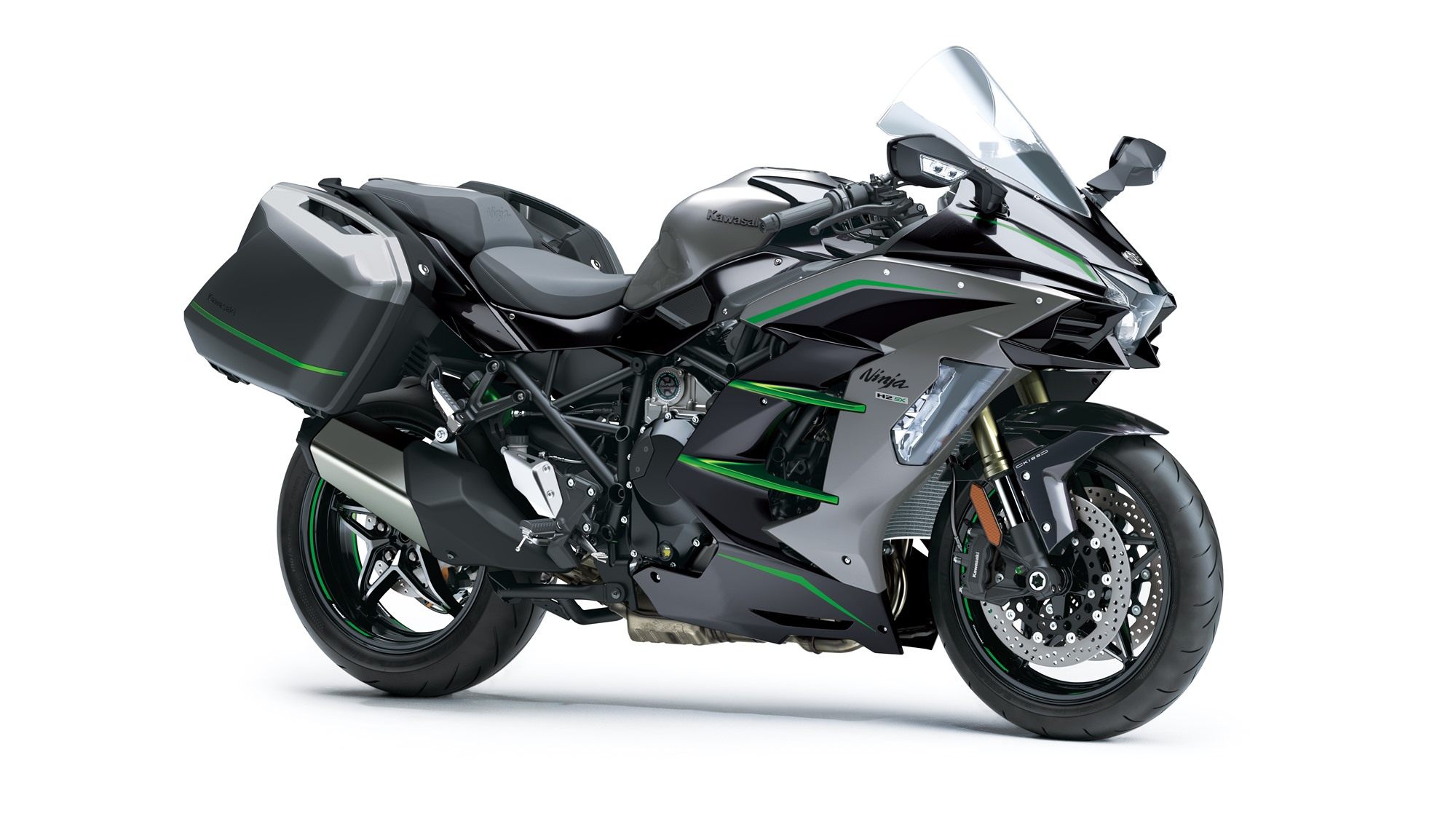 2020 Kawasaki Ninja H2 SX SE HD wallpaper