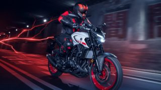 2020 Yamaha MT-03 HD wallpapers