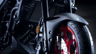 2020 Yamaha MT-03 front suspension