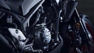 2020 Yamaha MT-03 engine