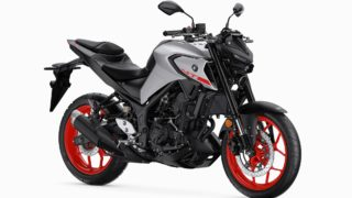 2020 Yamaha MT-03 white ice fluco colour option