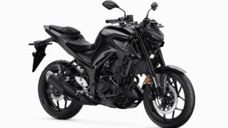 2020 Yamaha MT-03 midnight black colour option