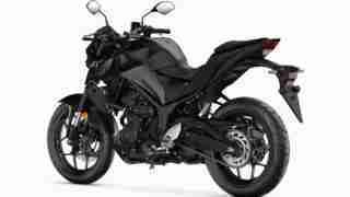 2020 Yamaha MT-03 midnight black colour option