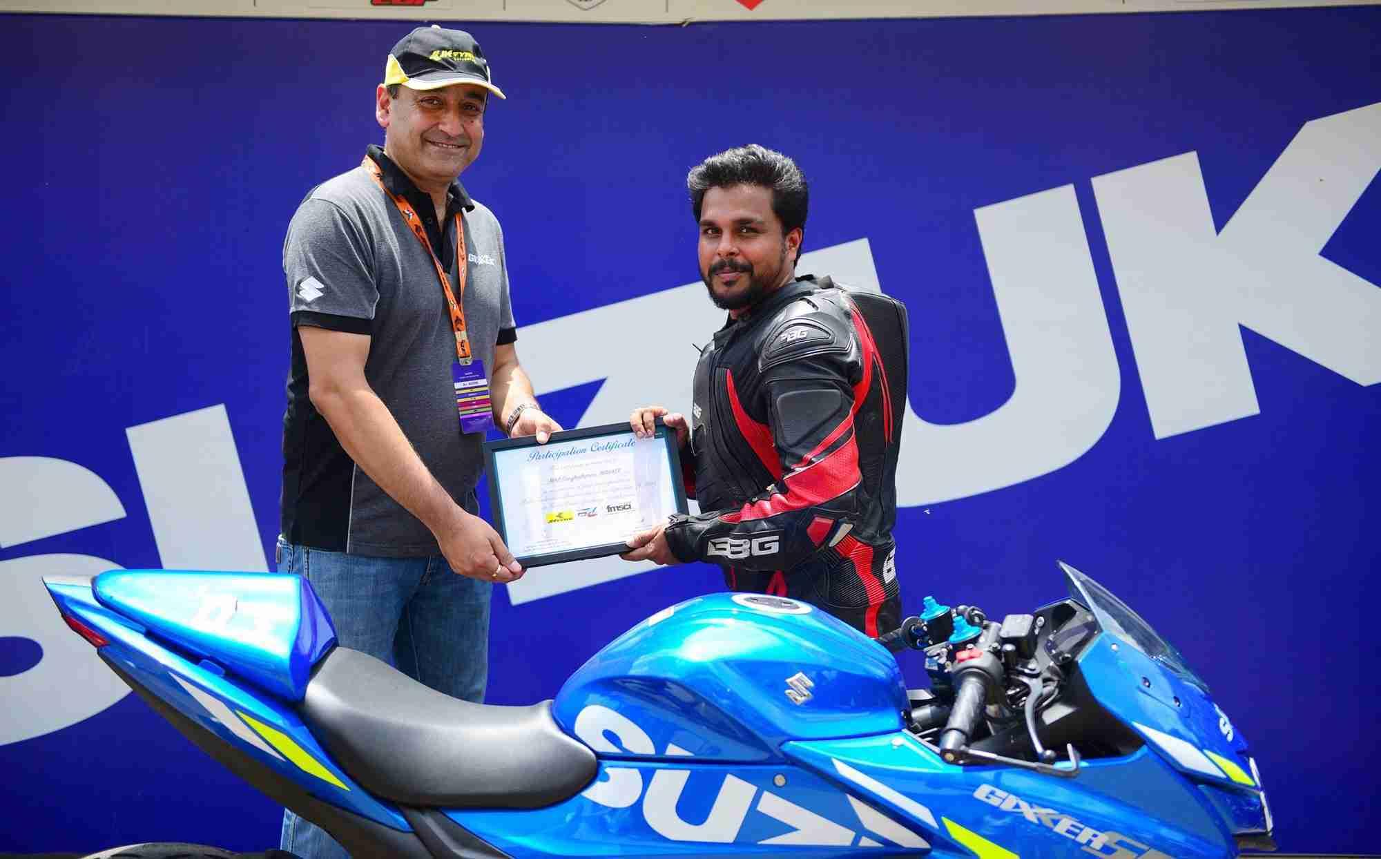 Akhil Ganghadharan - Gixxer SF 250