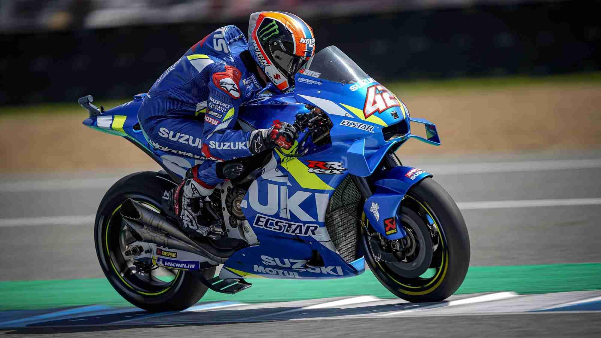 Alex Rins - MotoGP HD wallpaper Buriram