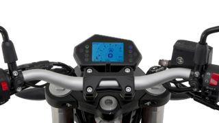 Benelli TNT 300 - 302 S speedometer and handlebar
