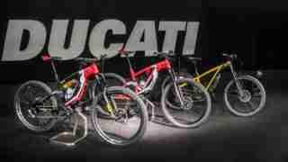 Ducati 2020 E-bike range