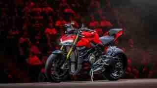 Ducati Streetfighter V4 S launch