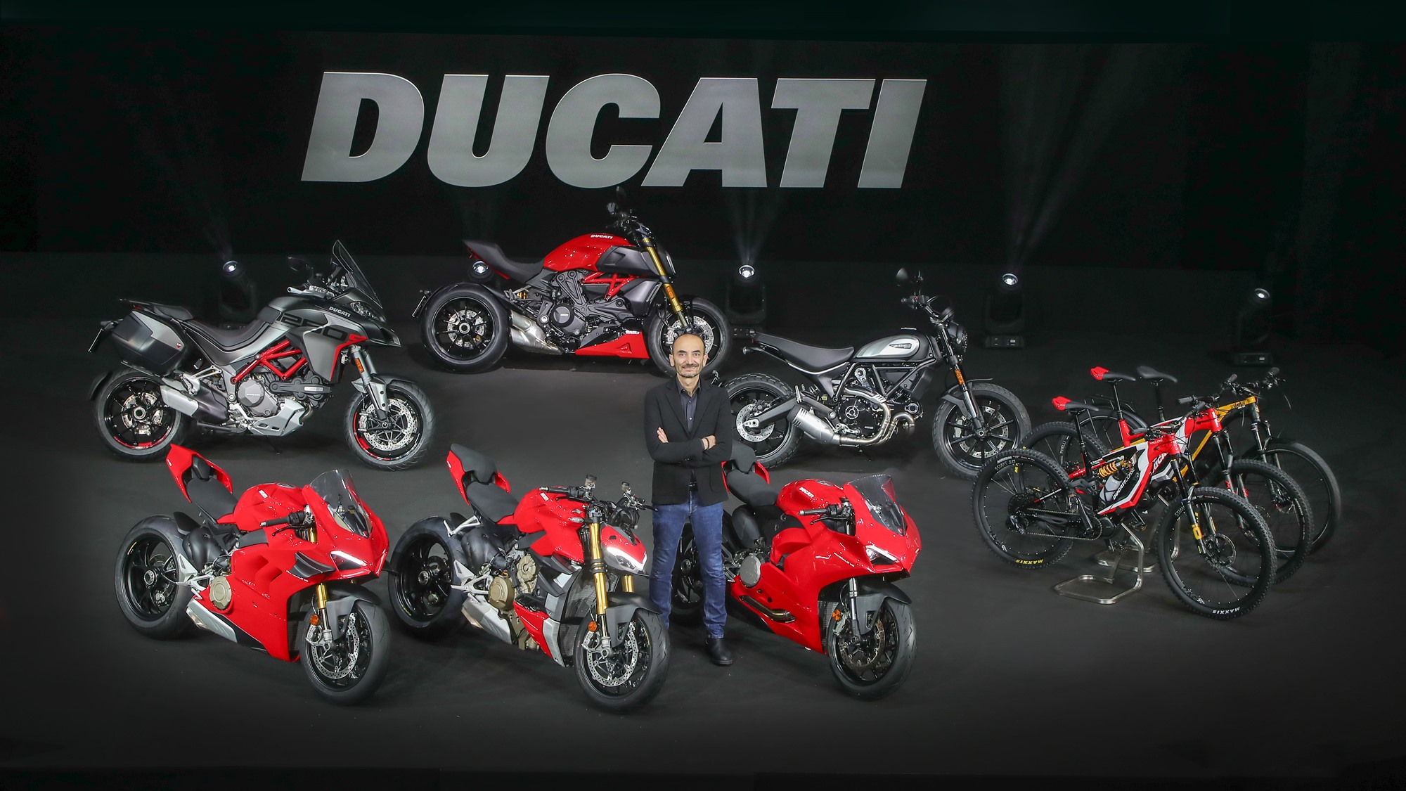 Ducati World Premiere 2020 with Claudio Domenicali