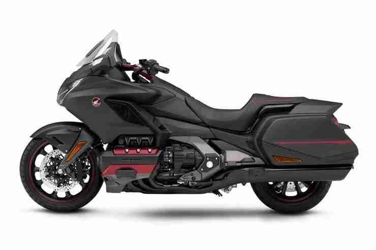 Honda Gold Wing in Darkness Black Metallic Grey