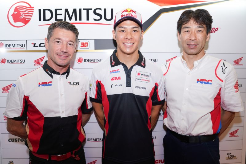 Honda and Takaaki Nakagami extend MotoGP contract