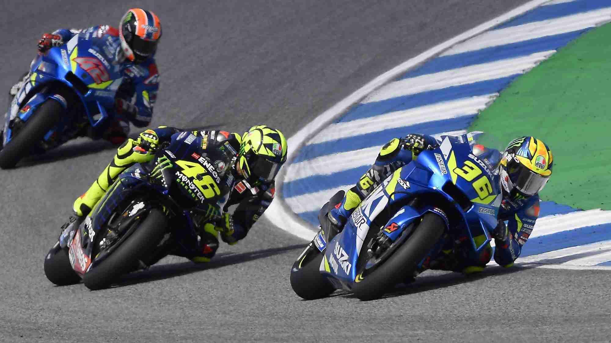 Joan Mir - Valentino Rossi - MotoGP HD wallpaper Buriram
