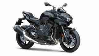 Kawasaki Z H2 HD wallpaper - all black