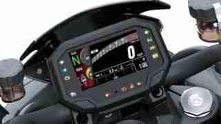 Kawasaki Z H2 TFT screen