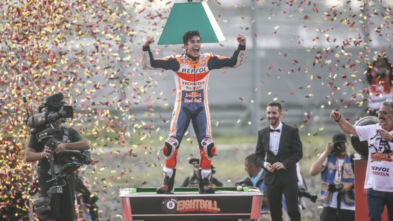 Marc Marquez is the 2019 MotoGP world champion