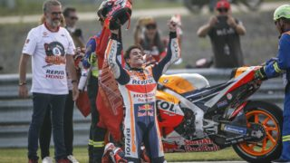 Marc Marquez celebrations - MotoGP HD wallpaper Buriram