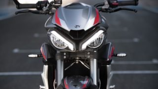 New 2020 Triumph Street Triple RS headlights