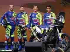 Sherco TVS Rally Factory Team announces riders for Dakar Rally 2020 - (From left)Johnny Aubert, Michael Metge, Lorenzo Santolino, Harith Noah