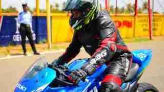 Suzuki Gixxer SF 250 track edition - Akhil Ganghadharan