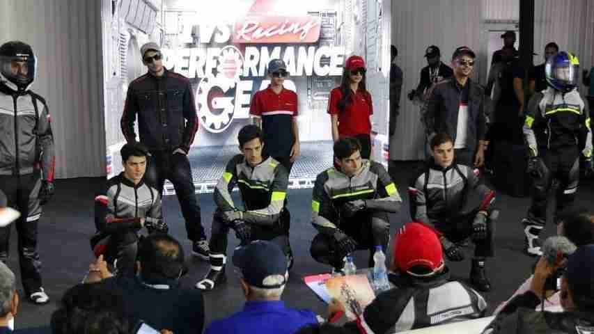 TVS Racing Performance Riding Gear at MotoSoul 2019