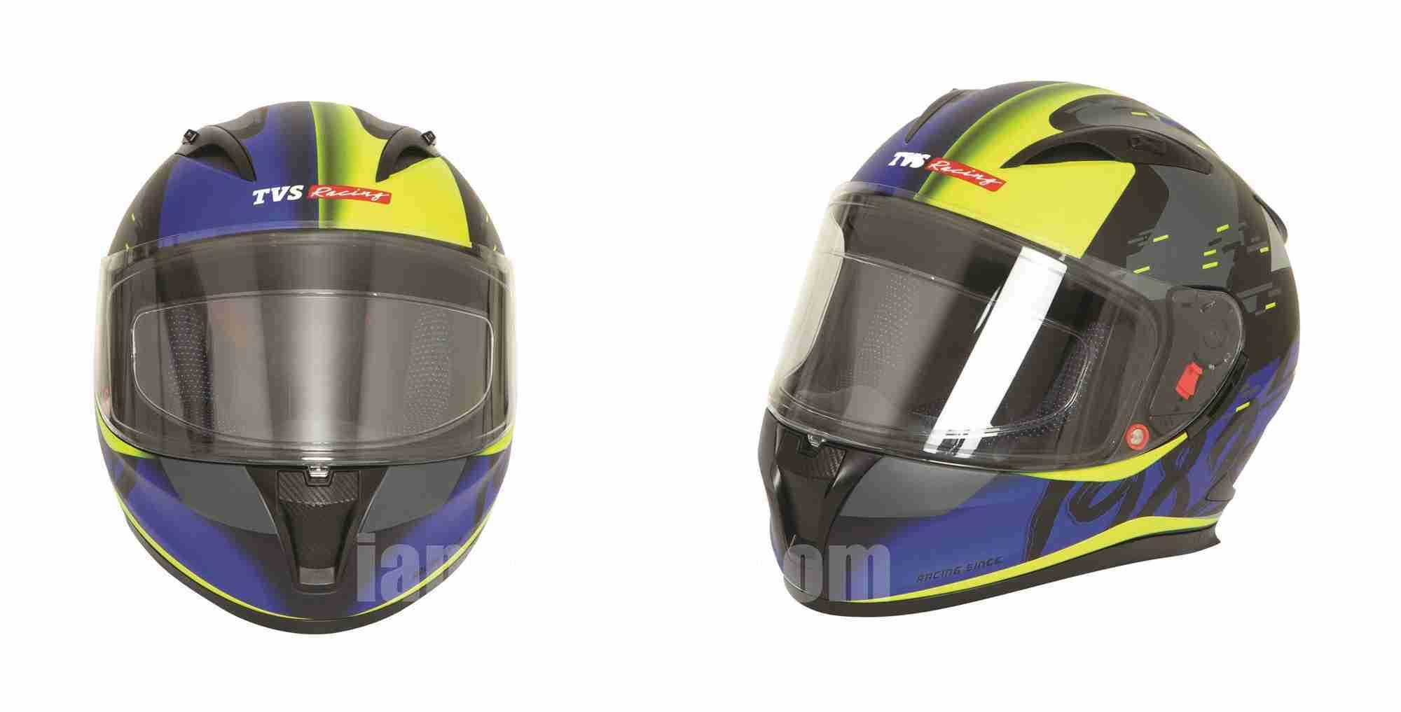 TVS Racing official helmet