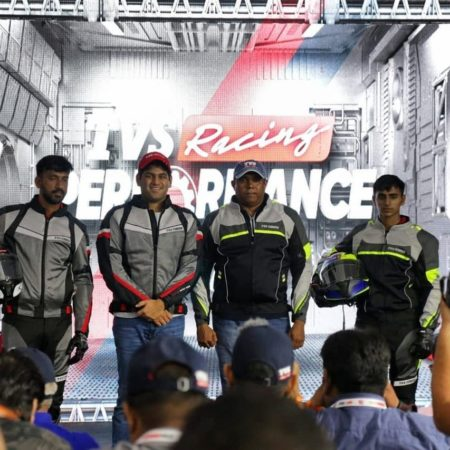 TVS launches its own Racing Performance Riding Gear at MotoSoul 2019