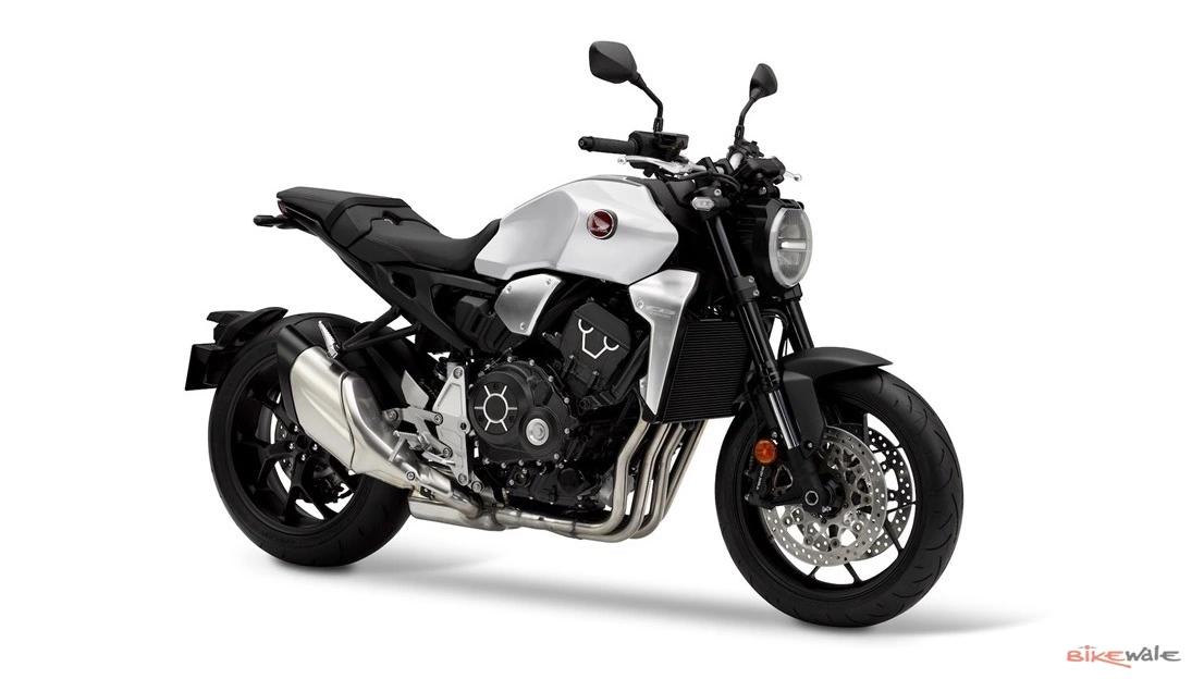 2020 Honda CB1000R in Matte Pearl Glare White