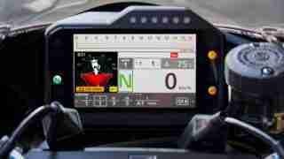 2020 Honda CBR1000RR-R SP Fireblade tft screen