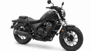 2020 Honda Rebel Matt Black