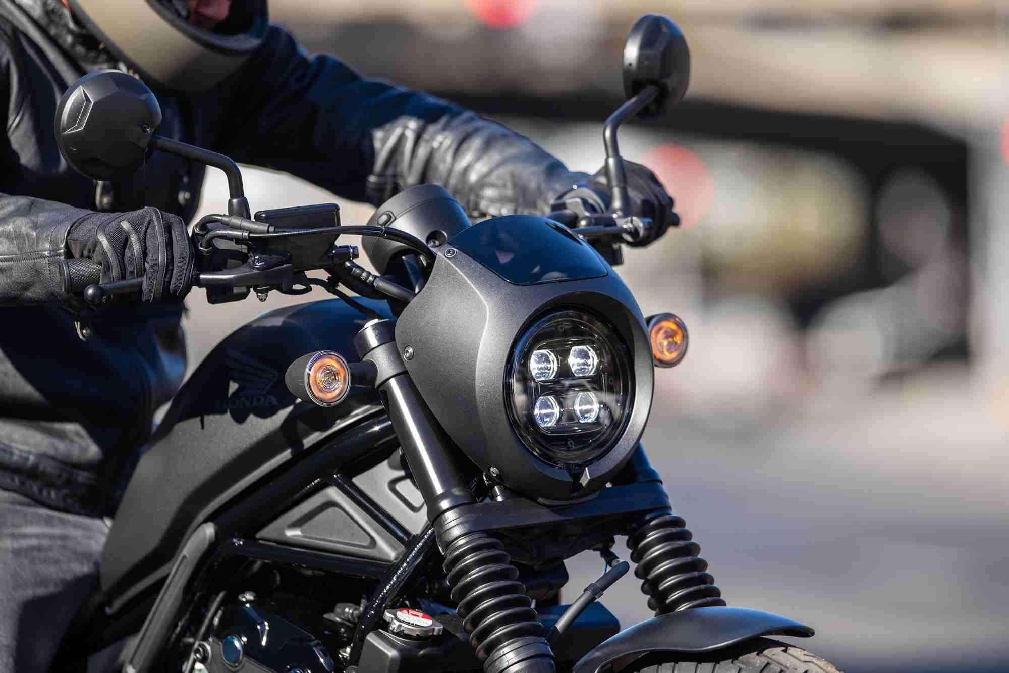 2020 Honda Rebel front view