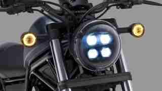 2020 Honda Rebel headlight