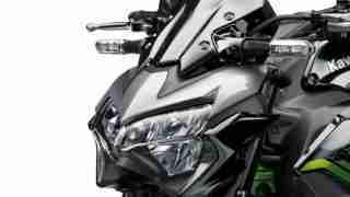 2020 Kawasaki Z900 headlight