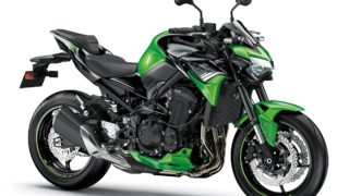 2020 Kawasaki Z900 high res images - colour option green