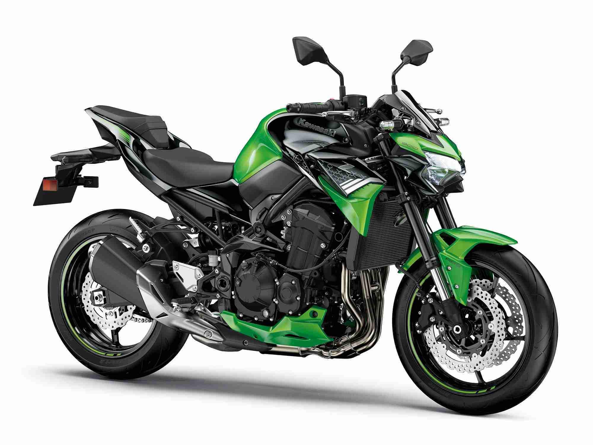 2020 Kawasaki Z900 digital meter TFT screen