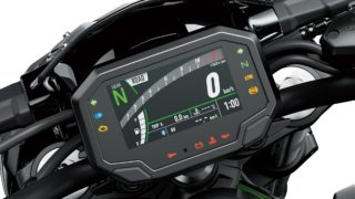 2020 Kawasaki Z900 tft screen digital