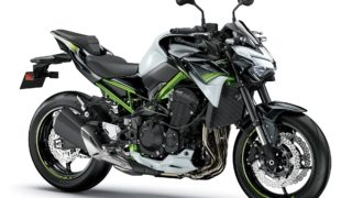 2020 Kawasaki Z900 white green colour option