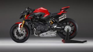 2020 MV Agusta Brutale 1000 RR red side view