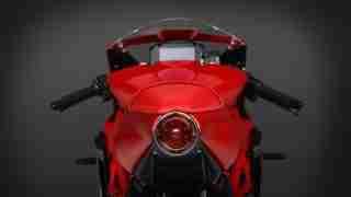 2020 MV Agusta Superveloce 800 tail brake light