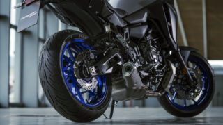 2020 Yamaha Tracer 700 engine and silencer