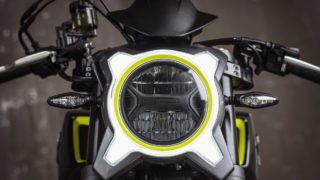 CF Moto 700CL-X headlight
